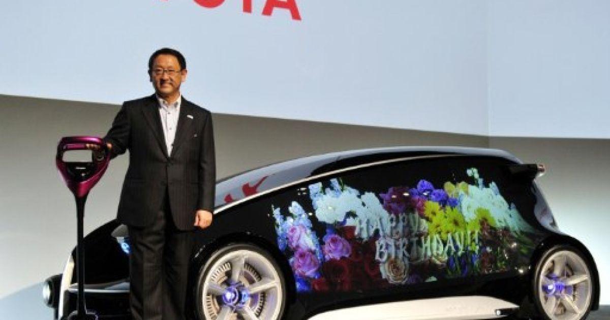 Концепт-кар Toyota Fun-Vii @ AFP