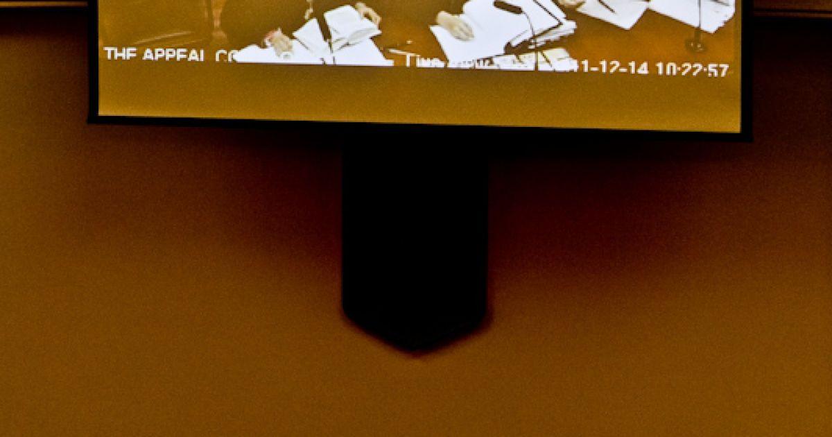 14 грудня в Апеляційному суді Києва судді продовжили розгляд по суті апеляції екс-прем'єра Юлії Тимошенко. @ Євген Малолєтка/ТСН.ua
