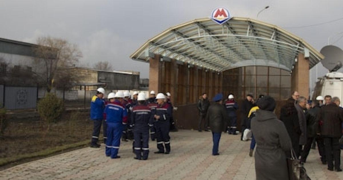 Запуск метро Алмати @ tengrinews.kz
