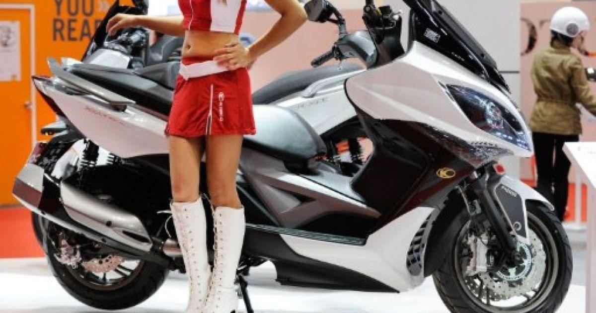 Новий скутер Kymco Scooter xciting 400i @ AFP