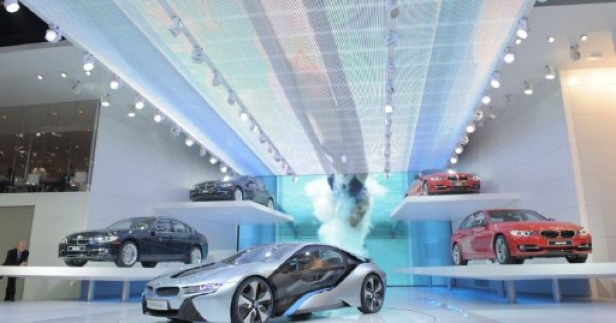 У американському місті Детройт відкрився щорічний Північноамериканський міжнародний автосалон @ AFP