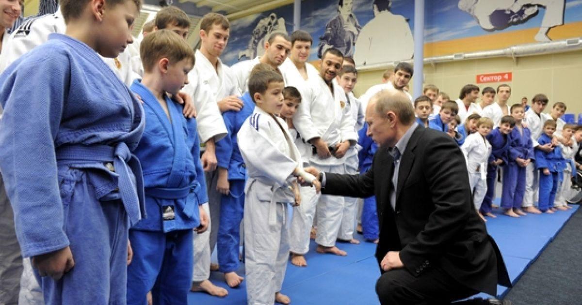 Володимир Путін відвідав регіональний центр дзюдо у Кемерово. @ premier.gov.ru