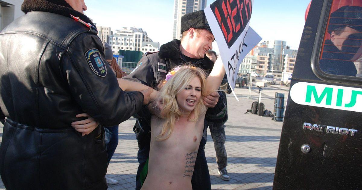 порно с активистками femen