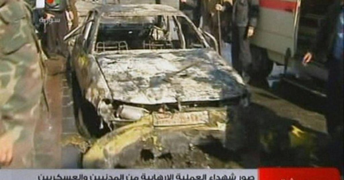 Теракт в Дамаску співпав з прибуттям до Сирії міжнародних спостерігачів @ AFP