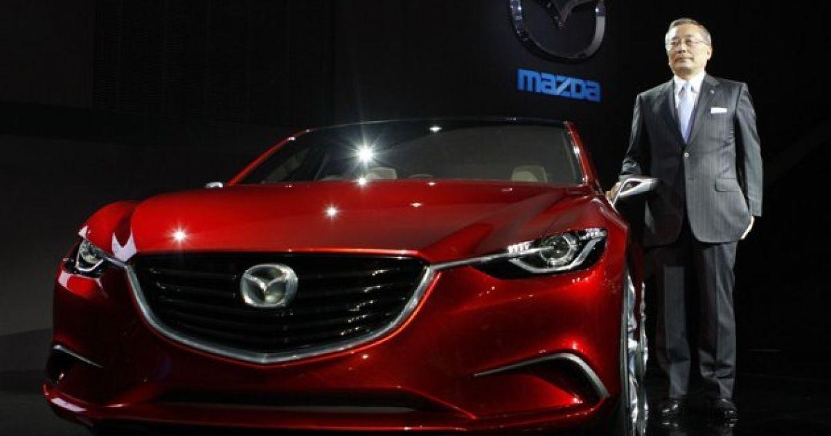 Mazda Takeri @ AFP