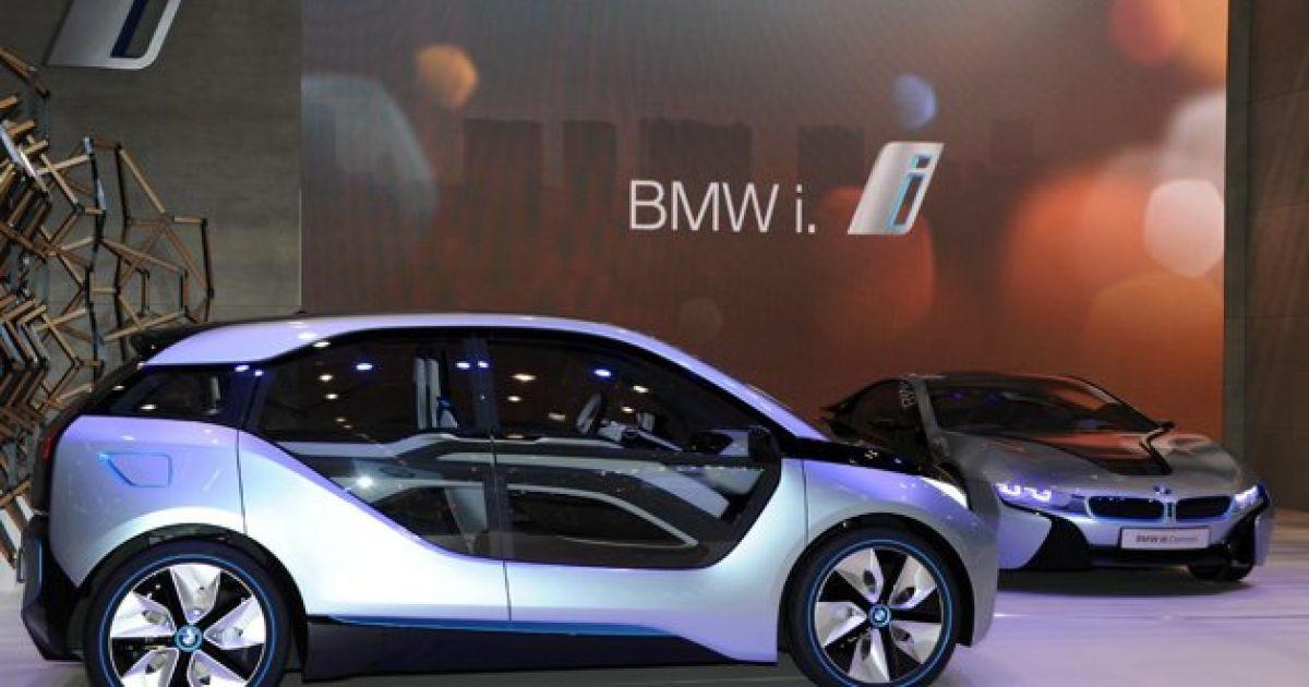 BMW i3 та BMW i8 @ AFP