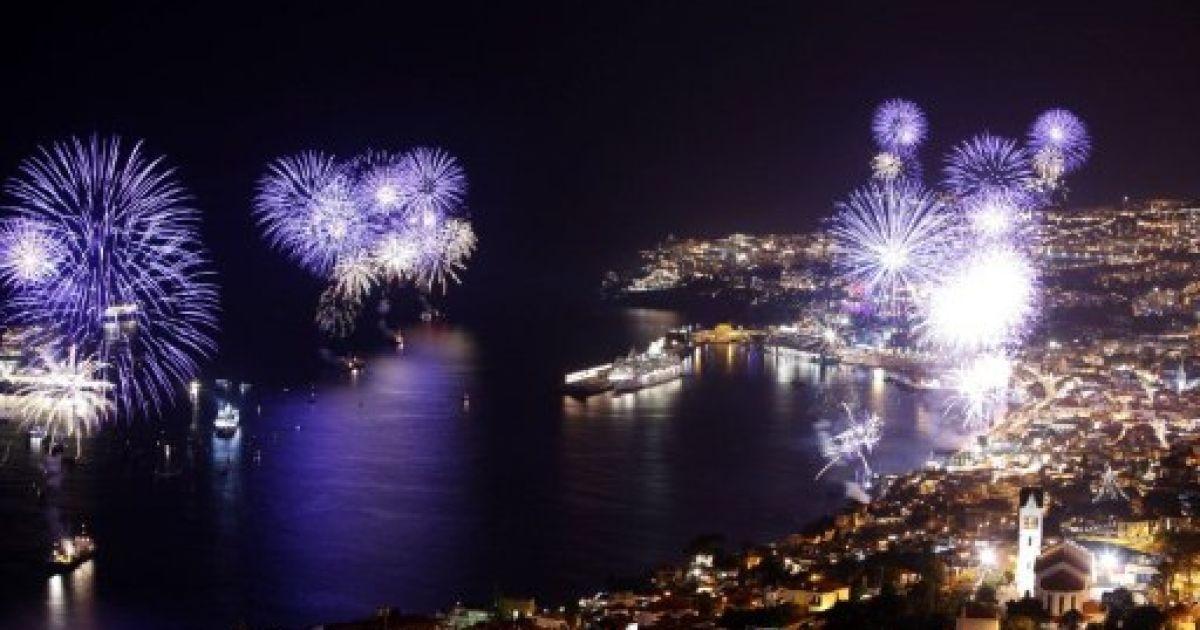 Зустріч Нового року. Португалія @ AFP