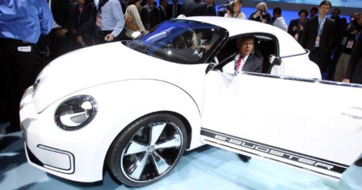 Volkswagen E-Bugster @ AFP