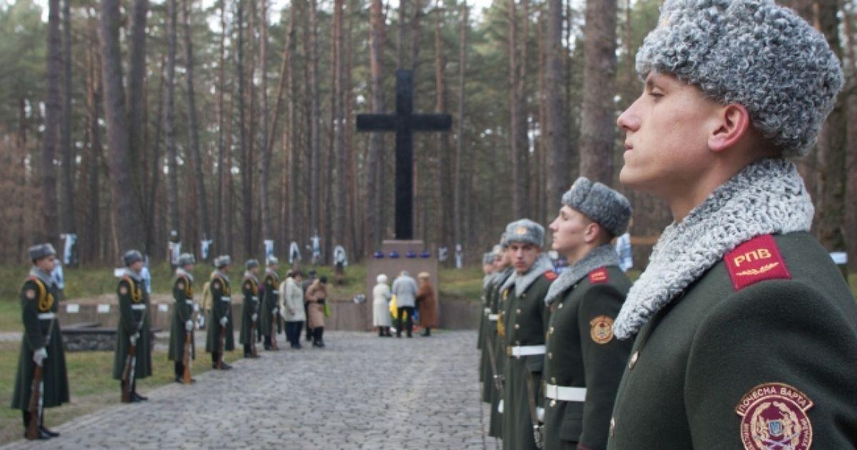 На сьогодні встановлене 14191 прізвище жертв репресій 1930-х років. @ Прес-служба президента України