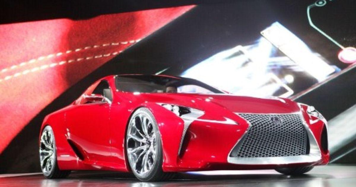 Гібрид Lexus LF-LC @ AFP