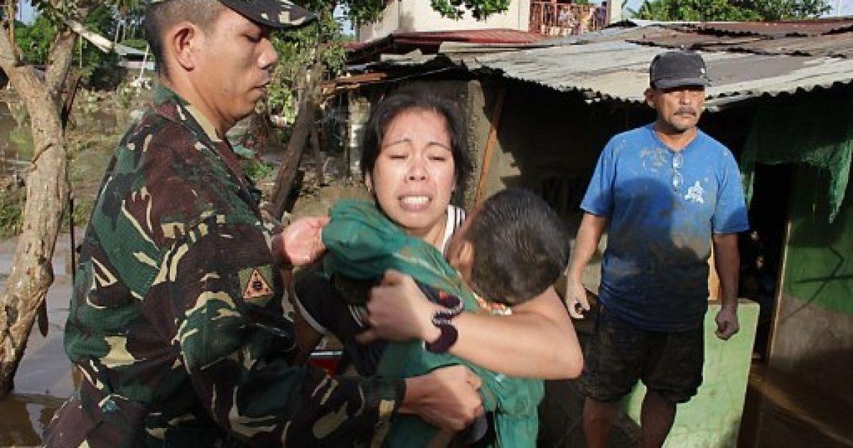 Під час повені загинули цілі родини @ AFP