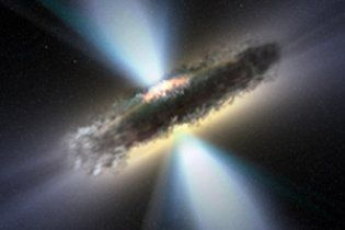 У космосі знайшли дві рекордно масивні чорні діри