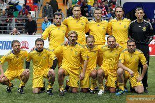 Україна здобула історичну перемогу на Кубку легенд