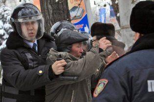 В Интернете появилось видео расстрела демонстрантов в Казахстане