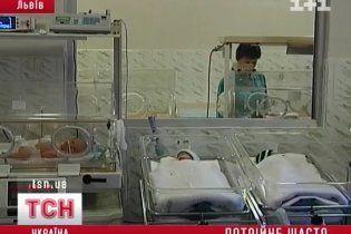У Львові жінка народила трійню без сторонньої допомоги