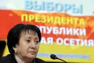 Опозиціонерка  Джиоєва оголосила себе президентом Південної Осетії