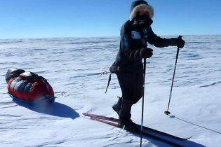 Впервые женщина сама пересекла Антарктиду на лыжах