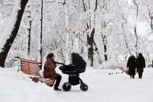 Україні прогнозують затяжну зиму - сніг лежатиме до травня