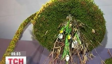 В Днепропетровске флористы показали свои шедевры ко Дню всех влюбленных