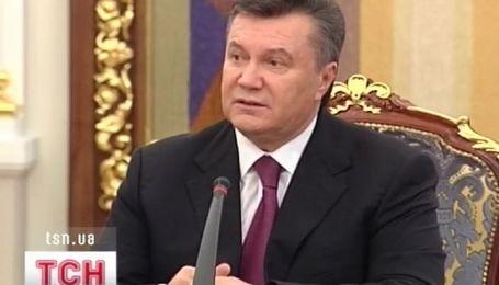 Янукович об ассоциации с Евросоюзом