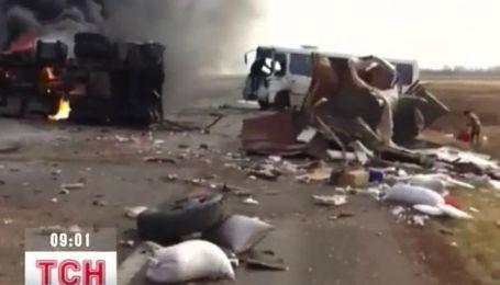 Ужасное ДТП в Одесской области