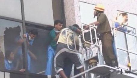 Во время пожара в элитной индийской больнице погибли 90 человек