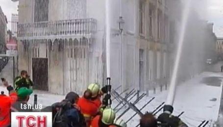 Бельгию парализовала всеобщая забастовка