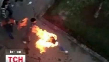 Самосожжение марокканских студентов