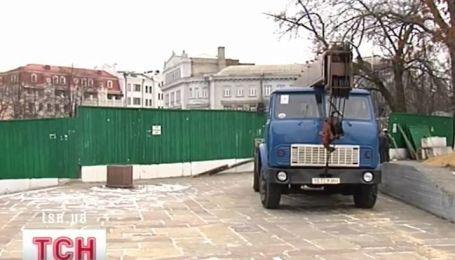 В Киеве опять скандал вокруг Десятинной церкви