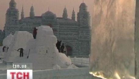 В Харбине открывается ледовая страна