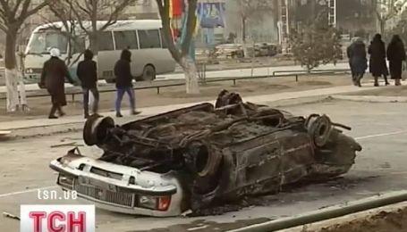 Чрезвычайное положение в Казахстане