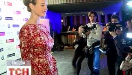 Наталия Водянова провела благотворительный аукцион
