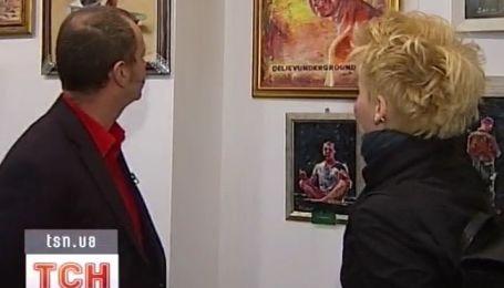 Выставка картин Деляева