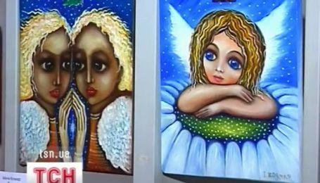 Полсотни ангелов слетелись в Ивано-Франковский художественный музей
