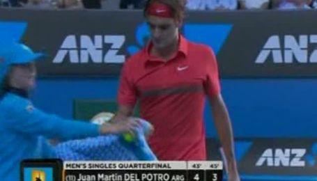 Федерер здобув блискучу перемогу у 1000-му матчі