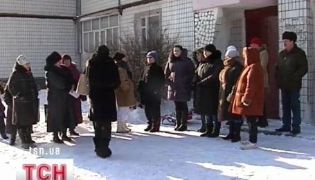 В Днепродзержинске замерзают две многоэтажки
