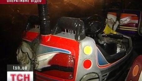 Один человек погиб в результате пожара на аттракционе в Одессе