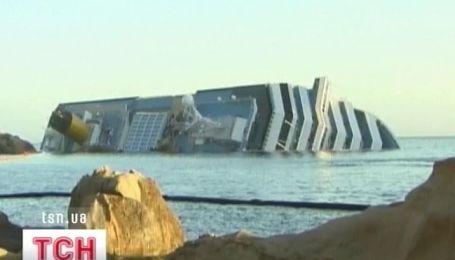 """Подробности аварии """"Costa Concordia"""""""