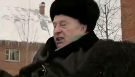 Жириновский нещадно избил осла сравнивая его с Россией