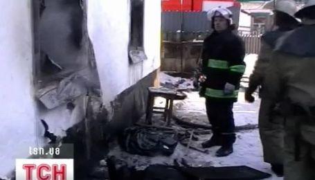 Ужасный пожар в Запорожье