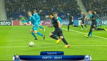 Порту - Зенит - 0:0. Обзор матча