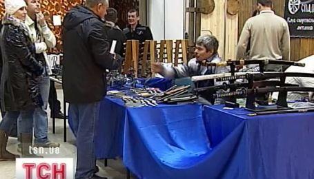 Международная выставка ножей прошла сегодня в Киеве