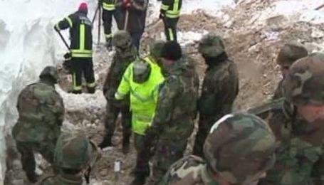 У Косово в результаті сходу лавини загинули 7 осіб