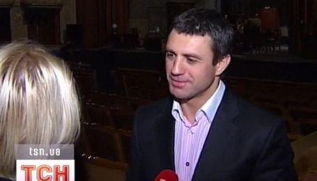 Николай Тищенко появился на публике с новой девушкой