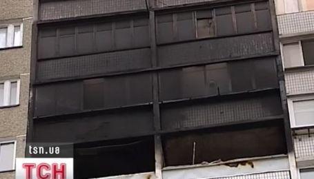 В новогоднюю ночь в Киеве дотла сгорела квартира вместе с хозяевами