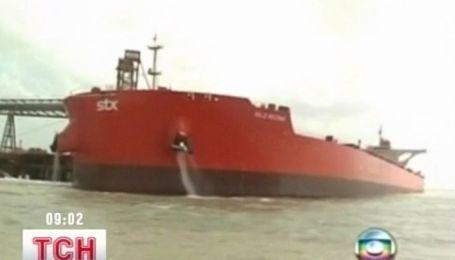 """Грузовой """"Титаник"""" у берегов Бразилии"""