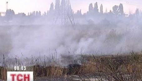 Дымовая завеса накрыла пол-Одессы