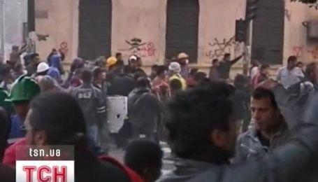 В Египте демонстранты спалили исторический памятник