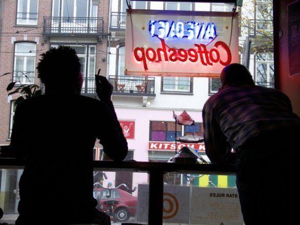 Кофешоп в Амстердамі