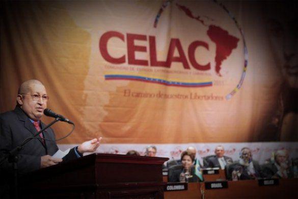 Уго Чавес. Утворення СЕЛАК